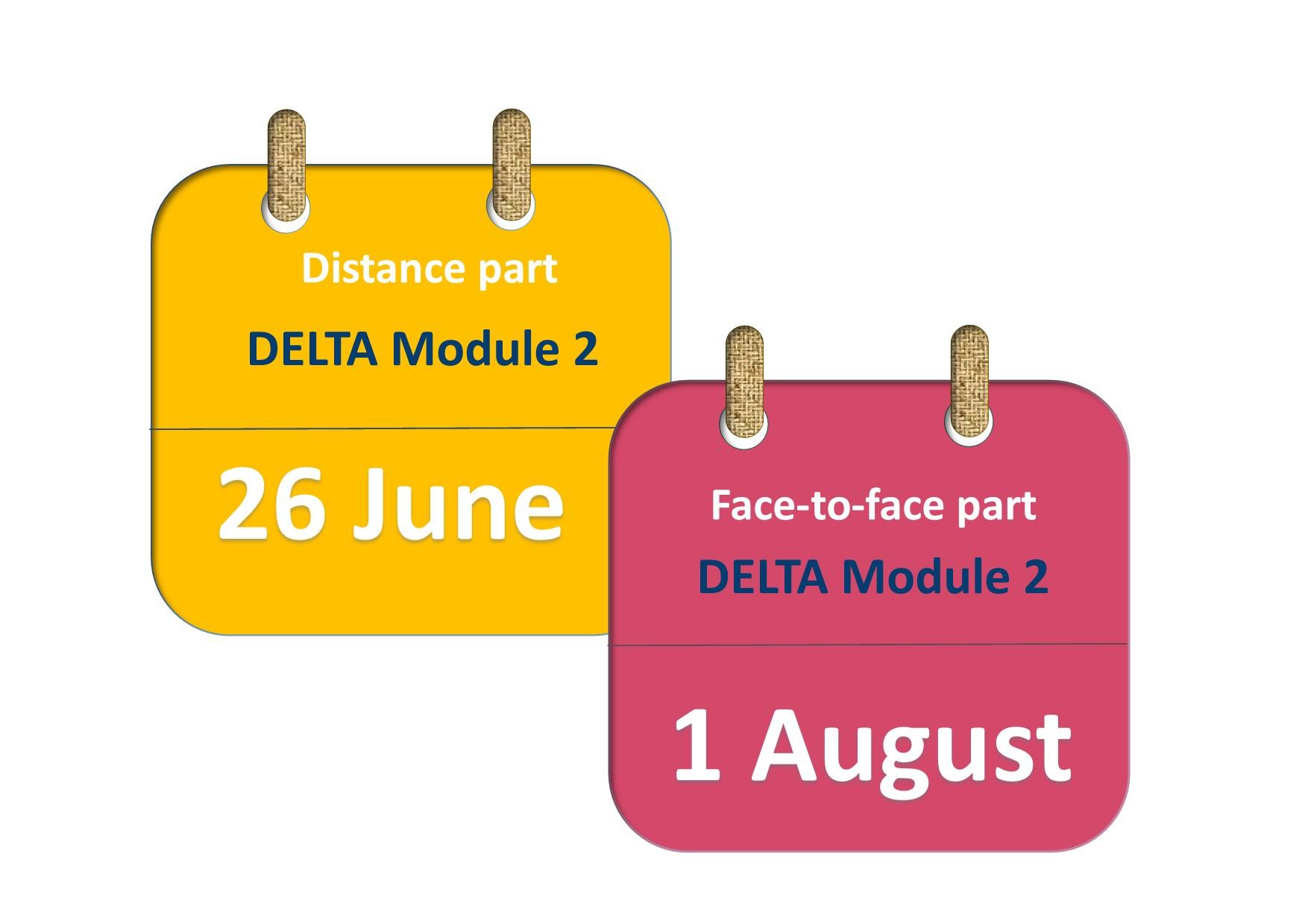 DELTA Module 2 course 2017