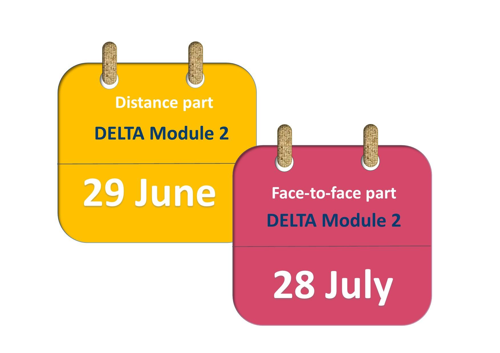 DELTA Module 2 course 2020
