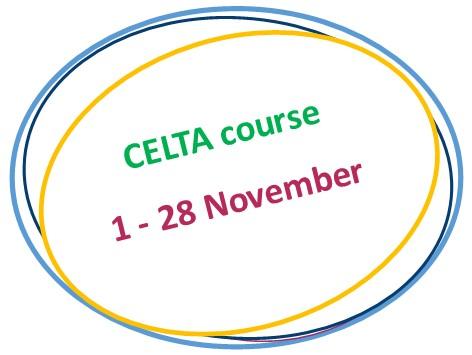 November CELTA course 2017