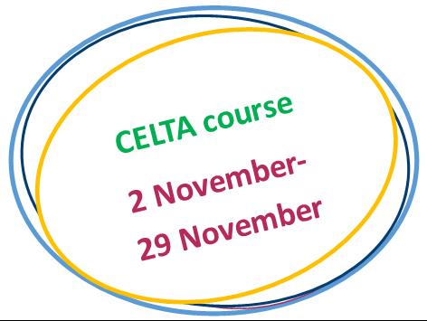 November CELTA course 2018